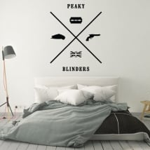 Decorative vinyl peaky blinders