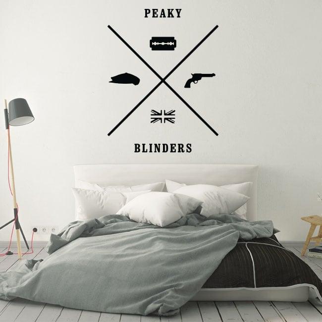 Decorative vinyl peaky blinders