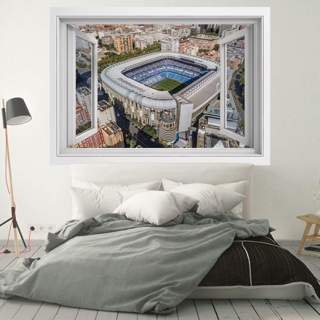 3d vinyl windows santiago bernabeu stadium