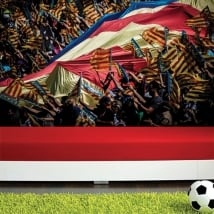 Wall murals mestalla football stadium valencia cf