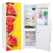 Vinyls and stickers to decorate refrigerators watermelons