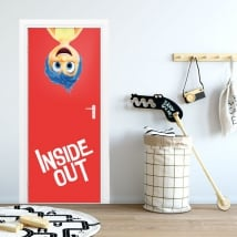 Door stickers disney inside out