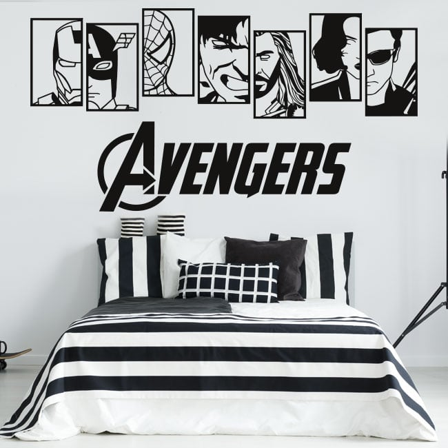 Vinyl and stickers marvel avengers