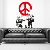 Vinyls stickers banksy graffiti