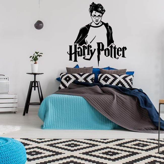 Vinyl and wall stickers harry potter