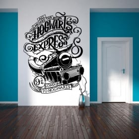 Decorative vinyls and wall stickers harry potter