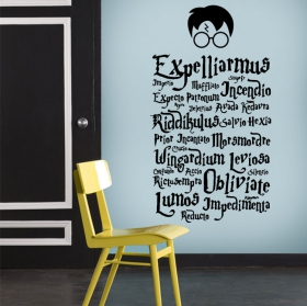 Harry potter wall stickers