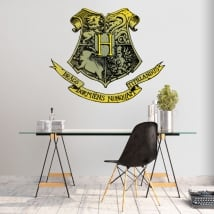Vinyls harry potter hogwarts school shield