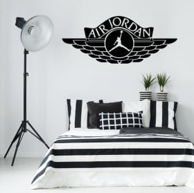 Decorative vinyls and stickers air jordan