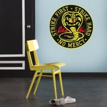 Decorative vinyl cobra kai