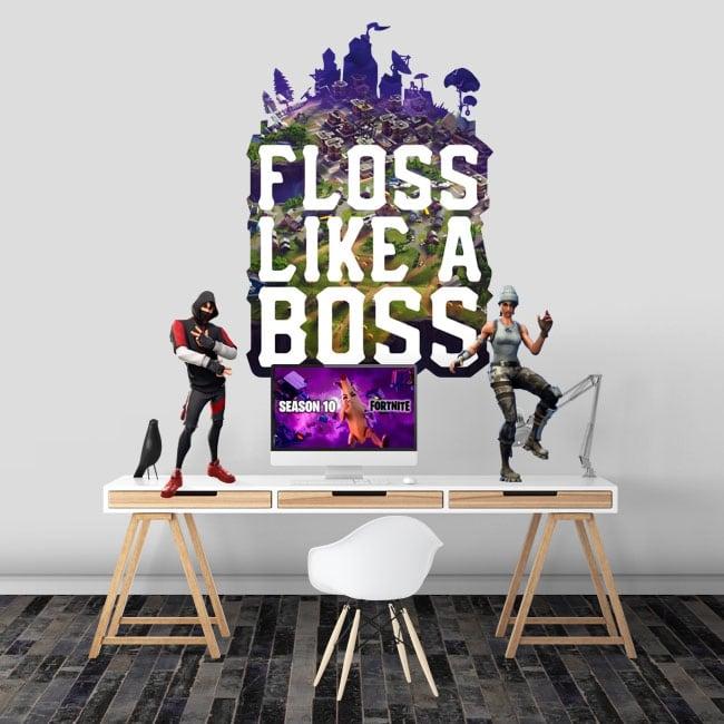 Vinyls fortnite floss like a boss