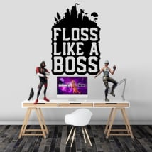 Adhesive vinyls fortnite floss like a boss