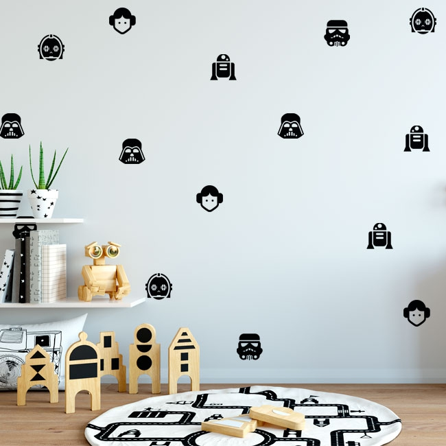 Vinyl and stickers kit star wars