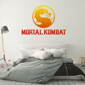 Vinyls and stickers videogame mortal kombat