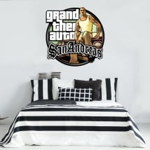 Vinyls and stickers grand theft auto san andreas