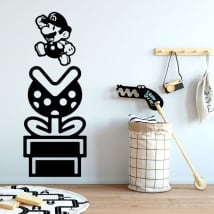 Vinyl and stickers mario bros