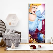 Vinyl for doors disney cinderella
