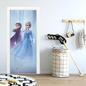 Vinyl for doors and wardrobes disney frozen 2