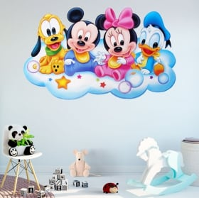 Vinyls and disney stickers for babies
