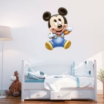 Vinyl and stickers disney baby mickey