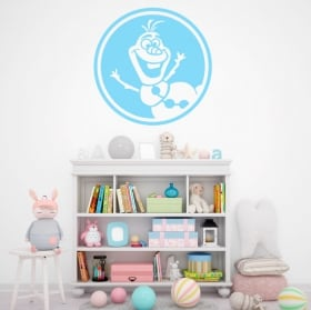 Decorative vinyls and stickers disney frozen olaf