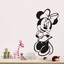 Vinyl and stickers disney minnie mouse