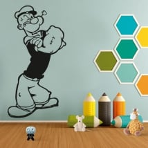 Decorative vinyls and stickers popeye