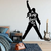 Decorative vinyls and stickers queen freddie mercury