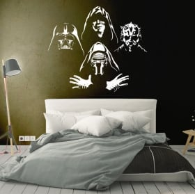 Adhesive vinyls and stickers star wars