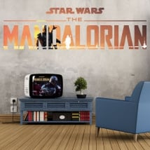 Vinyls and stickers star wars the mandalorian