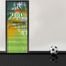Football stadium doors decals benito villamarín real betis balompié