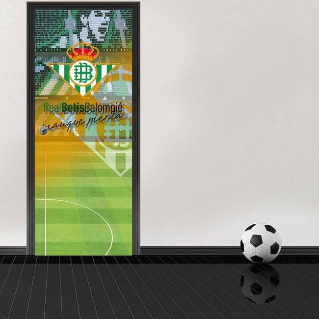 Football stadium doors decals benito villamarín real betis balompié