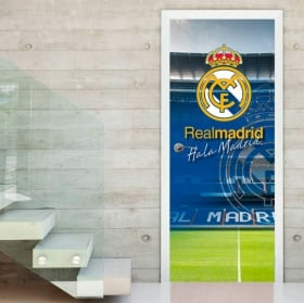 Vinyl for doors santiago bernabéu stadium real madrid