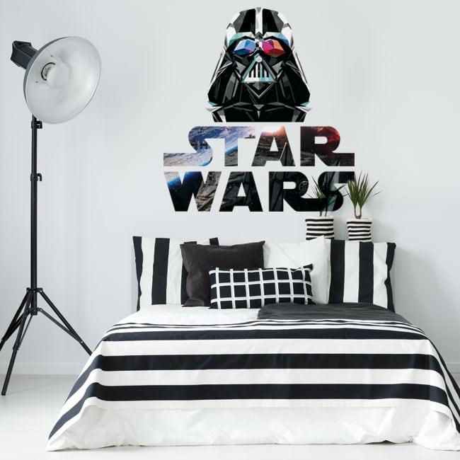 Decorative vinyl darth vader star wars