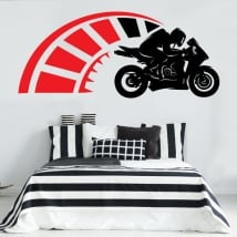 Stickers and decorative vinyls motogp