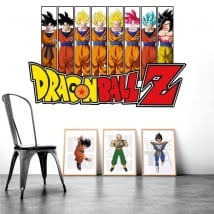 Adhesive vinyl dragon ball z