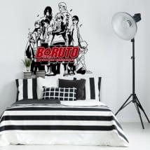 Vinyls and stickers boruto naruto