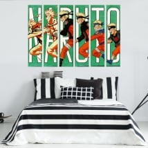 Decorative vinyls and youth stickers naruto