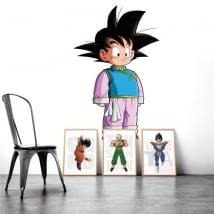 Stickers decorative vinyls dragon ball