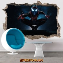 Stickers 3d miles morales spider-man