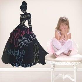 Vinyls black chalkboard disney cinderella