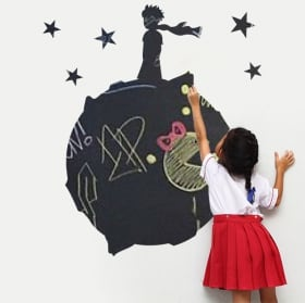 Children's blackboard stickers the little prince