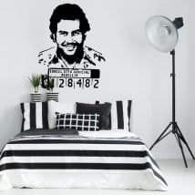Decorative vinyls pablo escobar gaviria