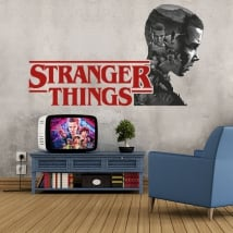 Decorative vinyls and stickers stranger things