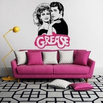 Decorative vinyls and stickers grease