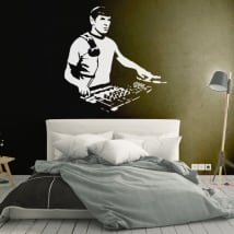 Decorative vinyls and stickers star trek dj spock