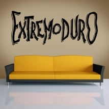 Decorative vinyls and stickers extremoduro