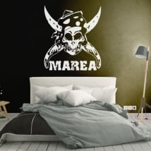 Decorative vinyls and stickers marea
