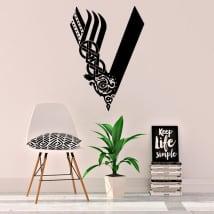 Decorative vinyls vikings