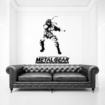 Vinyls and stickers videogame metal gear